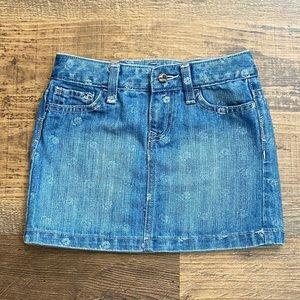 Girls Jean Skirt S 6-7